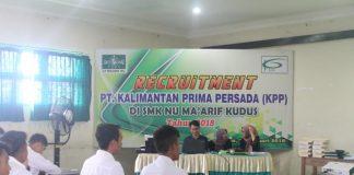 Perekrutan PT Kalimantan Prima Prasada